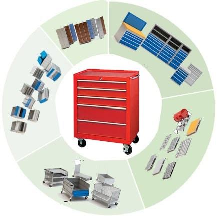 Industrial tool cabinets manufacturer, supplier, wholesaler, distributor, exporter in Gandhinagar, Gujarat, india