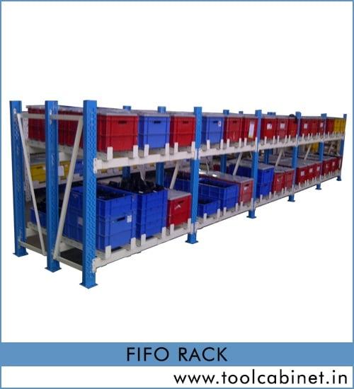 FiFo Rack Manufacturers, Supplier & Exporter in Surat, Gujarat, India