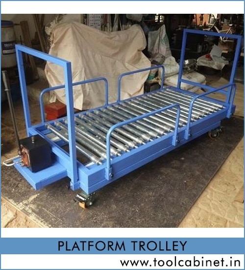 platform trolley wholesaler, distributor & exporter in Surat, Gujarat, India